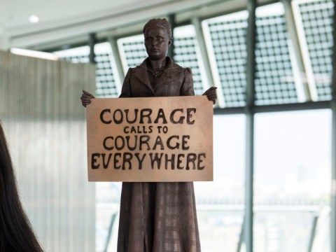 Design for the first ever statue of a woman in Parliament Square unveiled