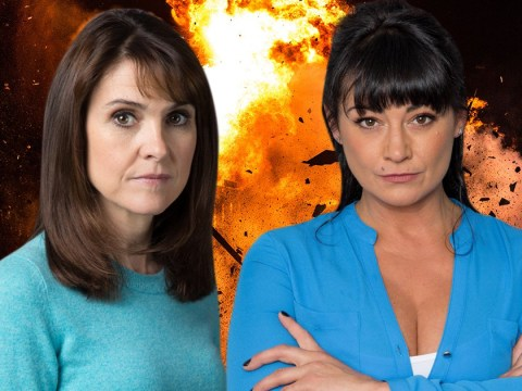 Emmerdale spoilers: Natalie J Robb reacts to the twist that Moira Dingle killed Emma Barton