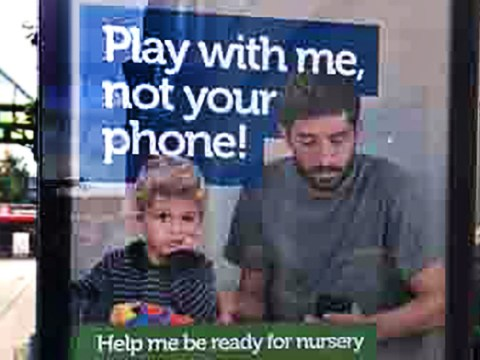 People think this advert with child's plea to 'play with me' is 'weird'