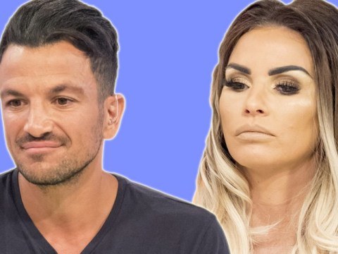 Katie Price thinks it's 'weird' Peter Andre will only speak to her in front of his wife