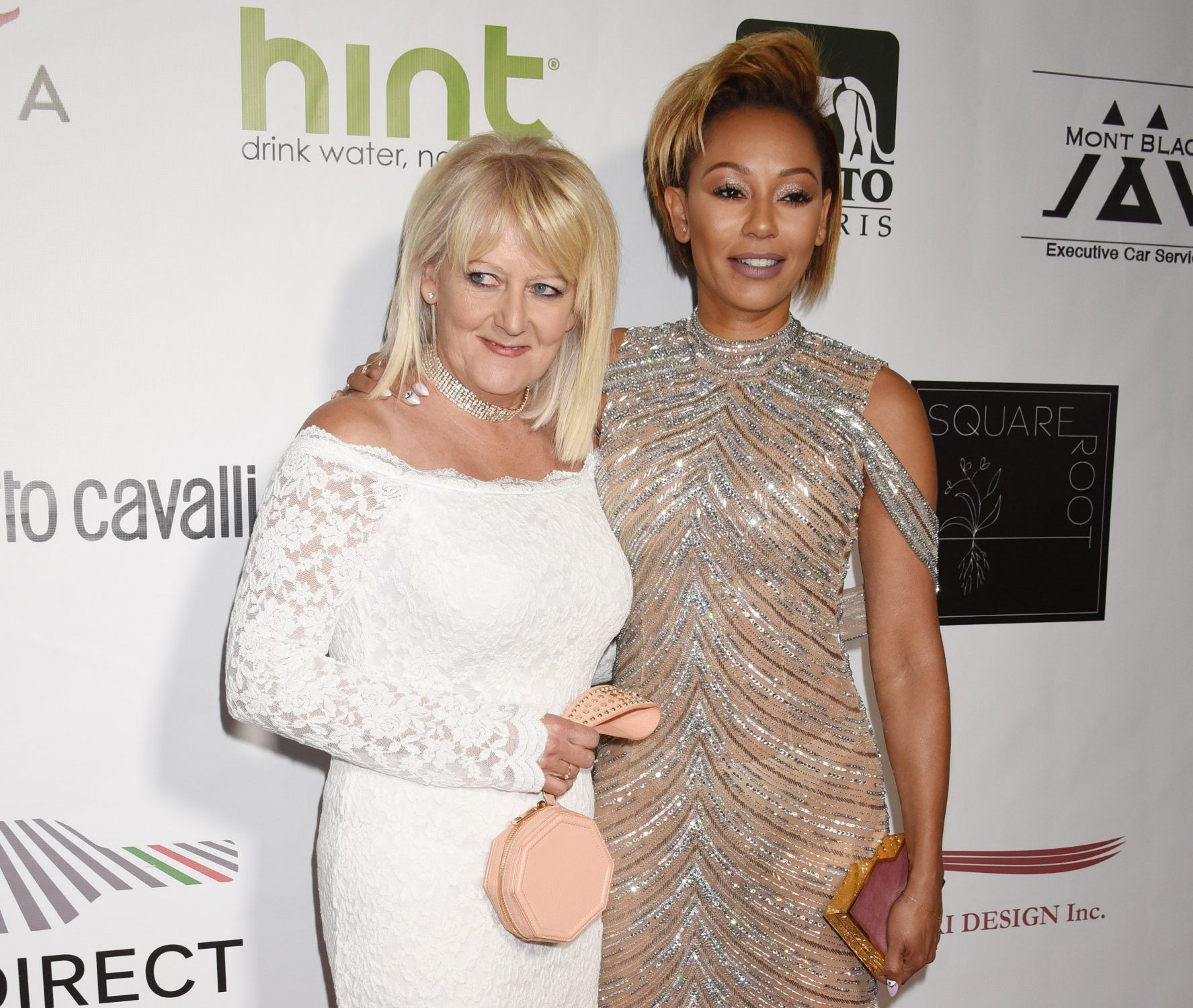 Mel B invites mum Andrea Brown onto the red carpet as pair heal decade-long rift amid singer's divorce