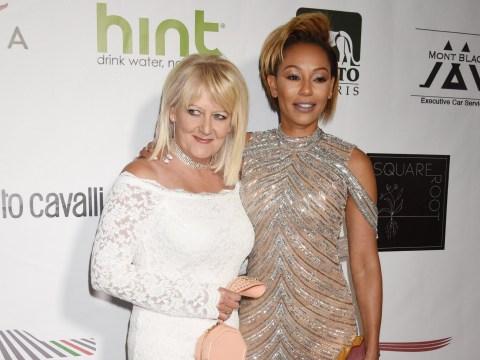 Mel B invites mum Andrea Brown onto the red carpet as pair heal decade-long rift amid singer's divorce