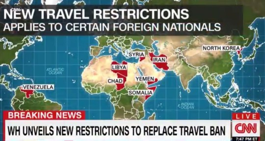 Trump travel ban countries: Eight countries face new restrictions