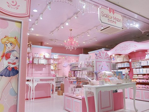 The first permanent Sailor Moon store has opened in Japan