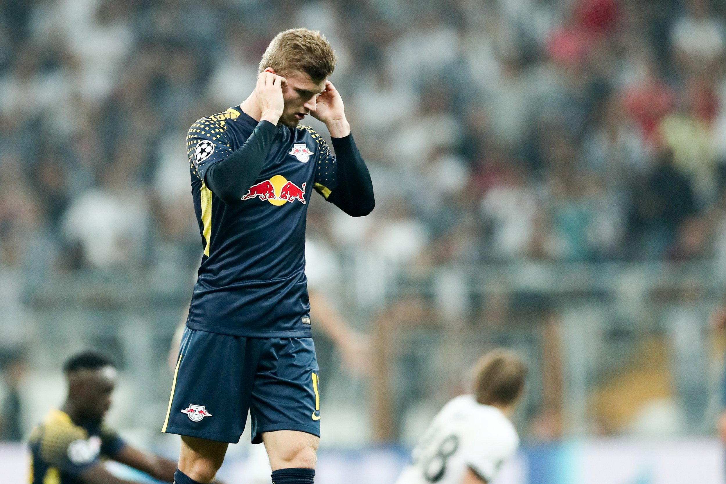 Leipzig's Timo Werner forced to ask for substitution in Champions League match due to loud Besiktas fans