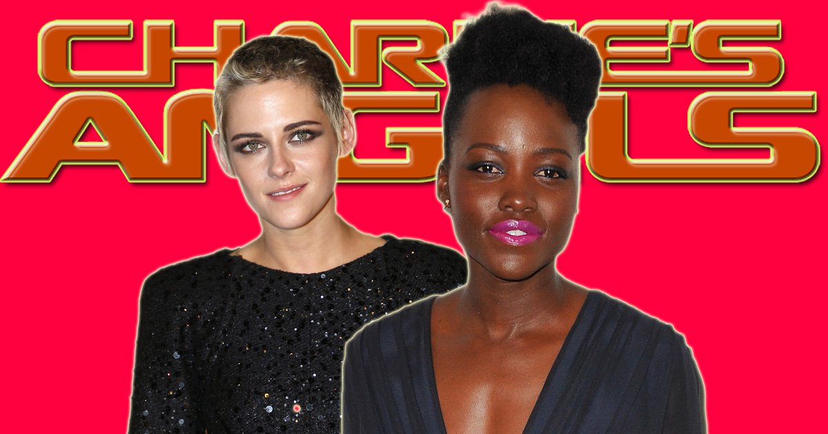 Kristen Stewart and Lupita Nyong'o 'being considered' for Charlie's Angels reboot