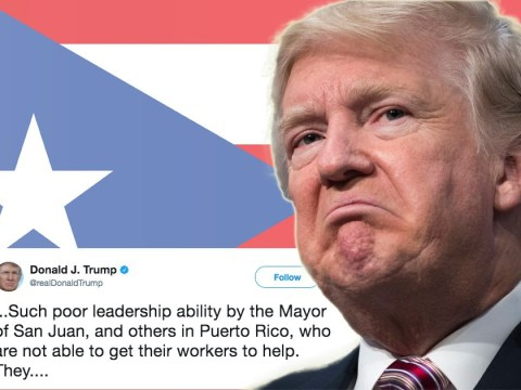 Donald Trump thinks Puerto Rico officials 'want everything to be done for them'