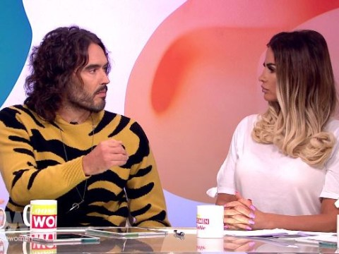 Russell Brand gives advice to Katie Price over cheating husband Kieran Hayler: 'Get him away'