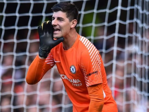 Thibaut Courtois singles out Petr Cech for praise following Chelsea's draw with Arsenal