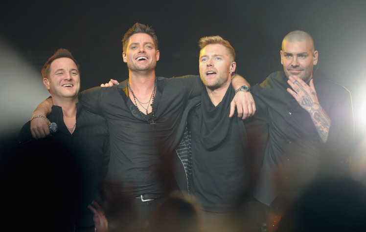 Boyzone have ditched the love ballads and gone 'urban' on their comeback album