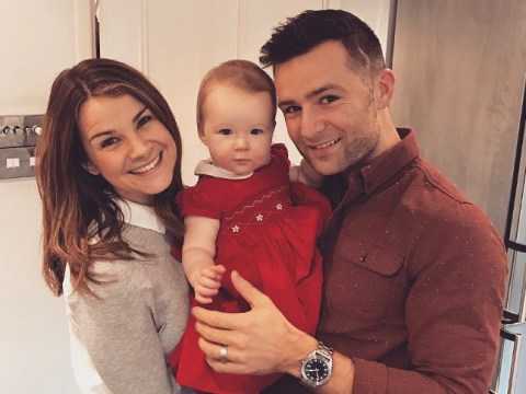 Harry Judd's wife talks of 'terrifying' moment baby struggled to breathe and was rushed to hospital