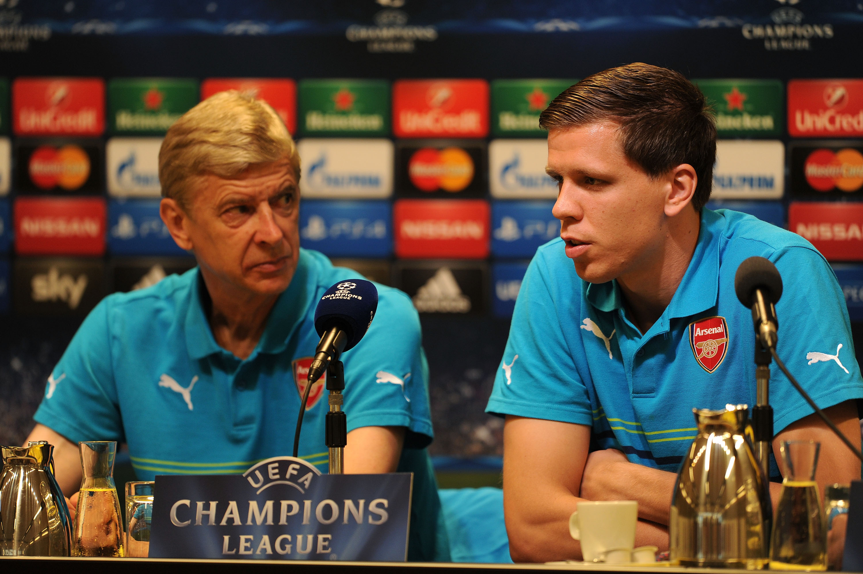 Wojciech Szczesny claims he never improved under Arsene Wenger at Arsenal