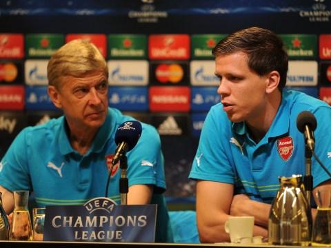 Wojciech Szczesny claims he never improved under Arsene Wenger at Arsenal