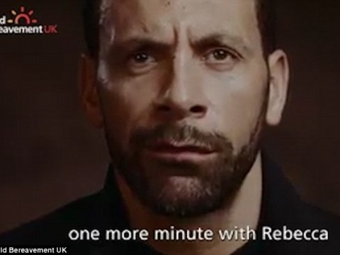 Tearful Rio Ferdinand shares what he would say to late wife Rebecca if he had one more minute