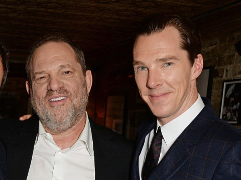 Benedict Cumberbatch brands Harvey Weinstein's actions 'horrifying and unforgivable'