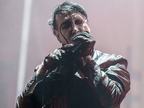 Marilyn Manson cancels string of tour dates to recover at home after on-stage prop falls on him