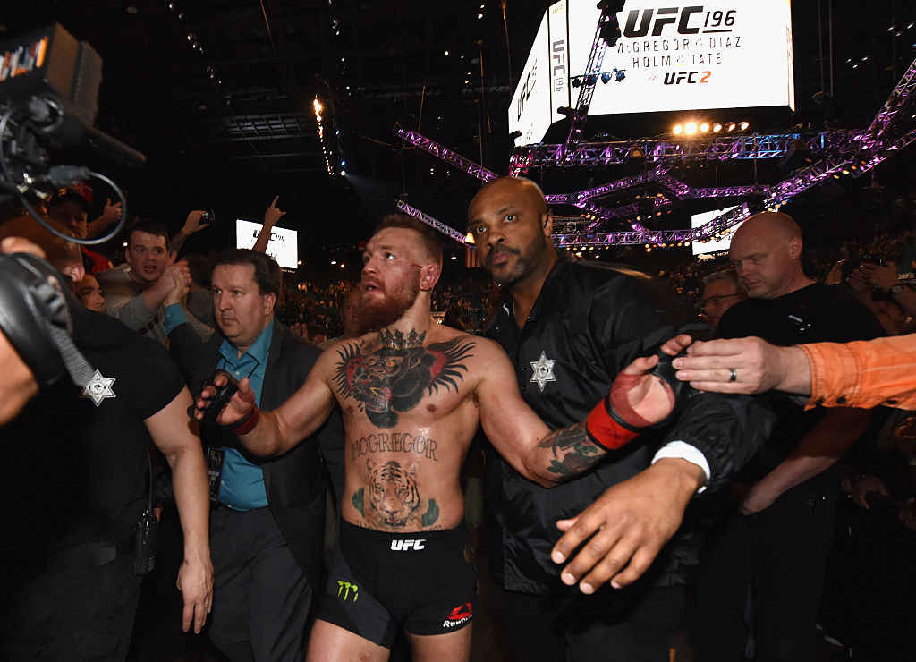 Notorious movie reveals Conor McGregor backstage after Nate Diaz loss: 'Pu****d out, I did'