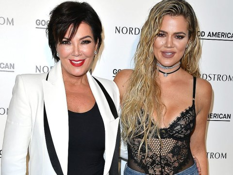 Kris Jenner appears to confirm daughter Khloe Kardashian is pregnant