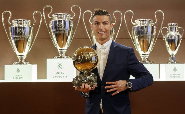 72f98fbb305 Cristiano Ronaldo has won 14 titles with Real Madrid (Picture  Getty Images)