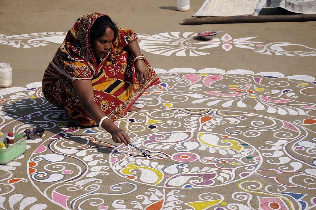 How to make Diwali Rangoli as part of your Diwali 2017 activities