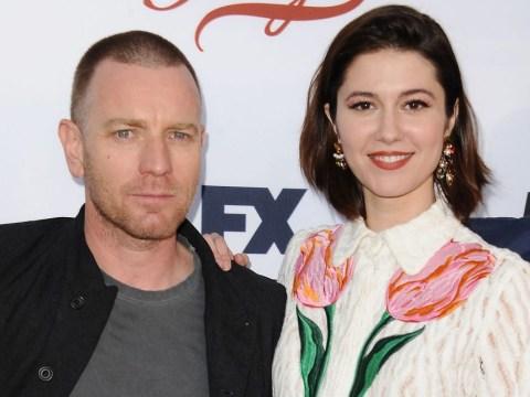 Married Ewan McGregor 'kisses Fargo co-star Mary Elizabeth Winstead in busy London cafe'