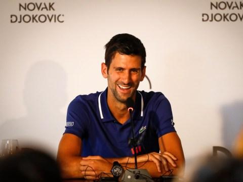 Novak Djokovic speaks out on chasing Roger Federer's Grand Slam record