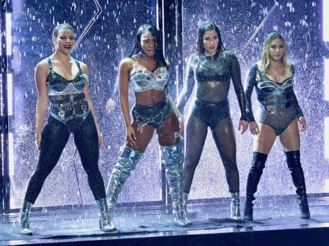 Fifth Harmony's Normani Kordei stacks it on stage but totally styles it out