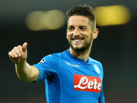 Manchester United target Dries Mertens opens door to Premier League transfer