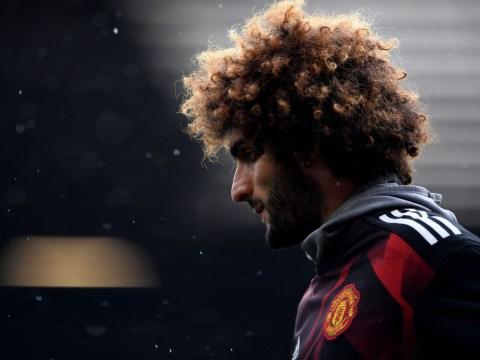 Roberto Martinez fears Marouane Fellaini has suffered ligament injury in Belgium win