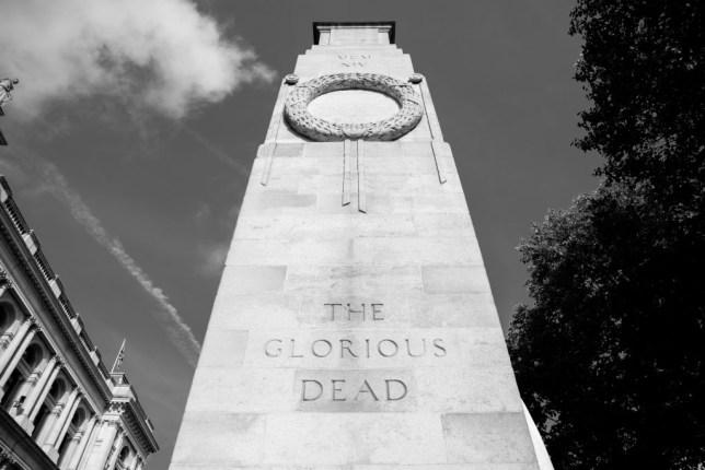 Remembrance Sunday Cenotaph