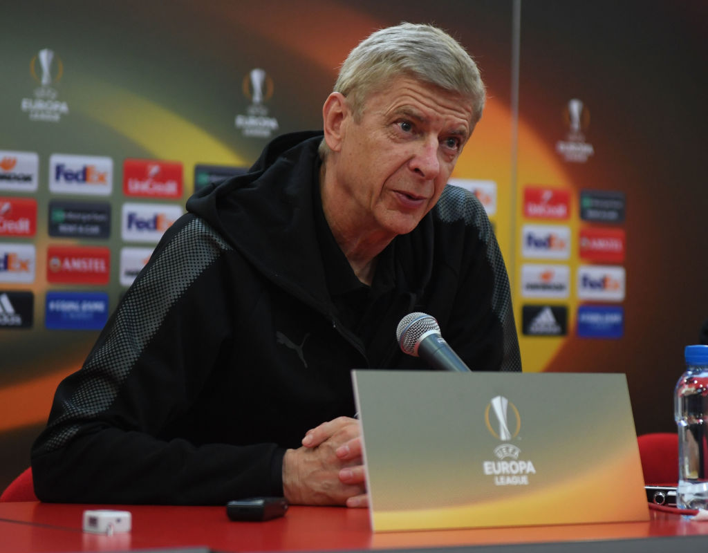 Arsene Wenger explains decision to start Mathieu Debuchy against Red Star Belgrade