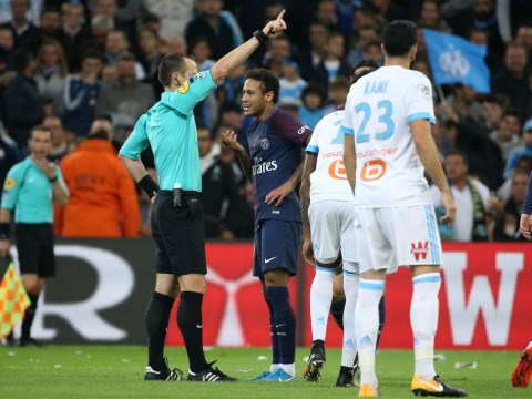 Neymar says his controversial red card for PSG was unfair