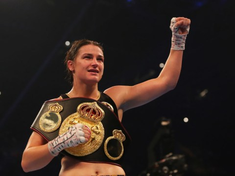 Katie Taylor comes through battle with Anahi Sanchez to win first world title in Cardiff