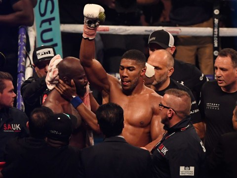 Anthony Joshua could aim for British blockbusters against David Haye or Dillian Whyte