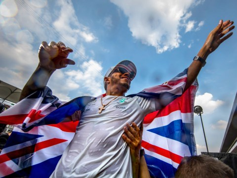 How Neymar, Nico Rosberg and Sebastian Vettel congratulated Lewis Hamilton after F1 title win
