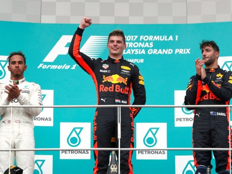 Max Verstappen becomes youngest driver to win two F1 races with Malaysian Grand Prix triumph