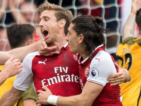 Nacho Monreal predicted he would score first goal in four years against Brighton