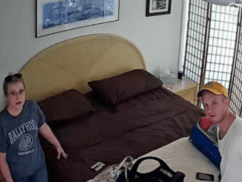Airbnb guest says secret camera definitely caught him walking around naked