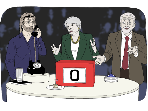 Deal or no deal, there's no number in the Brexit box that will please the British public