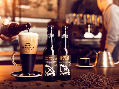 Meantime Brewing have made a limited edition latte/beer hybrid