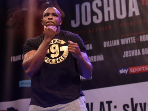 Dillian Whyte: Anthony Joshua has peaked, but I can only get better