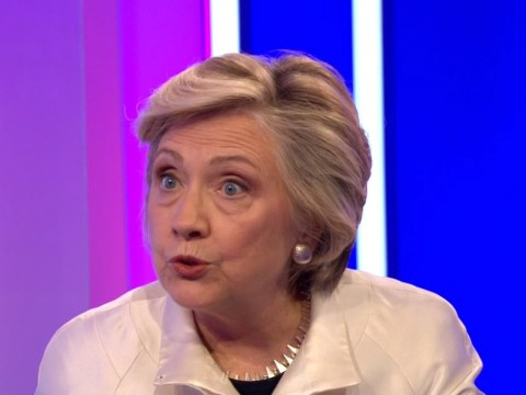 Hillary Clinton appeared on The One Show and people were confused to say the least