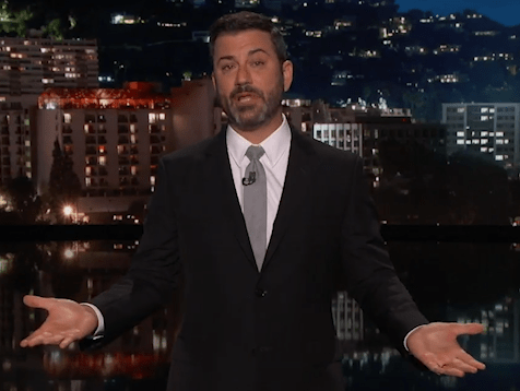 Jimmy Kimmel breaks down during powerful monologue about gun control after Las Vegas shooting