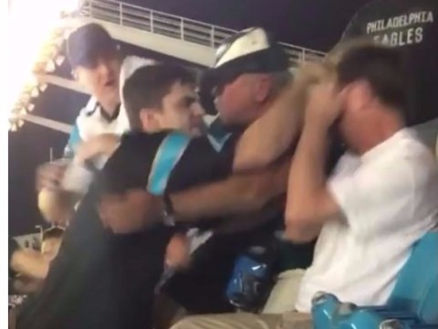 NFL fan punches man in face after being told to sit down