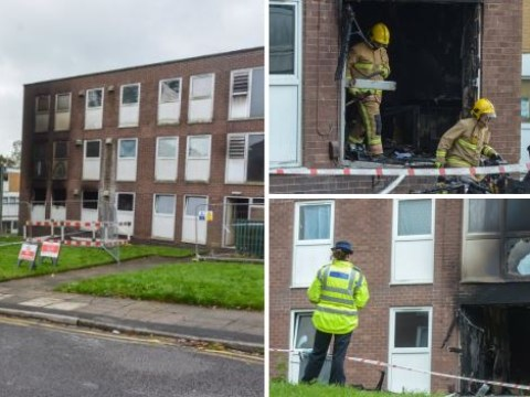 Mum and children fighting for their lives after devastating fire at their flat