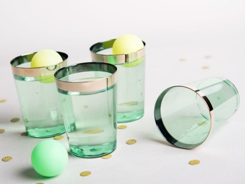 Gin pong is finally here for a classier (and more alcoholic) beer pong alternative