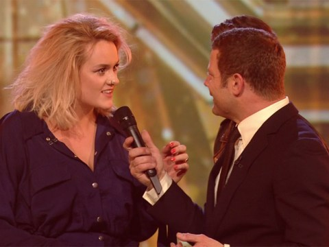 Dermot O'Leary blunders as he tells Grace Davies she's won X Factor prize – when she hasn't