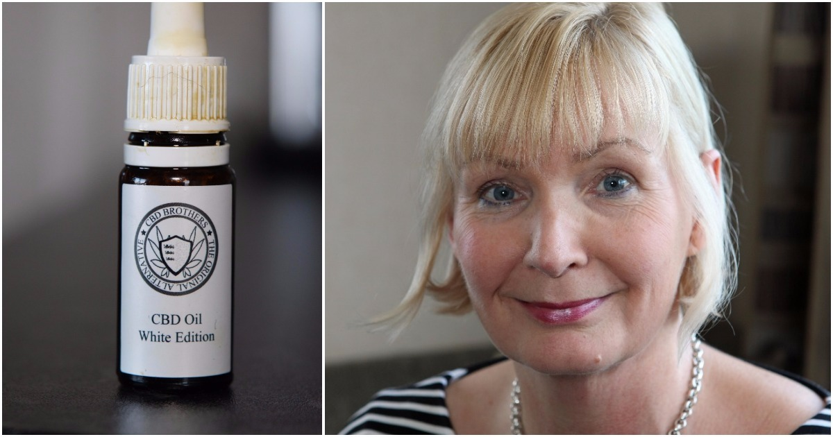 Woman cured of sciatica within hours of using cannabis oil she bought online