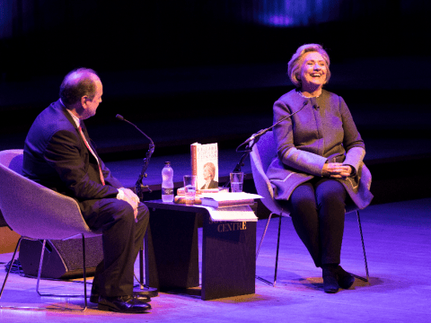 Hillary Clinton proved how relevant she is to young women today with her London talk