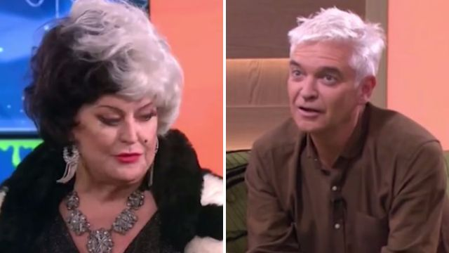 Philip Schofield tells Kim Woodburn to 'shut your face' in chaotic This Morning segment